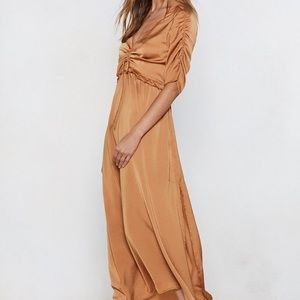 NWT nasty gal maxi dress
